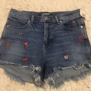 NWT Express highwaisted shorts